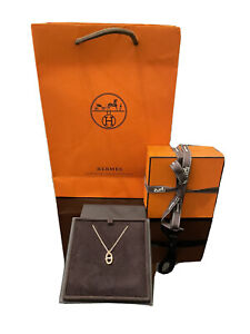 New Hermes Farandole Iconic 18K Rose Gold Pendant Necklace Mother's Day Gift