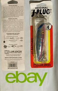 2OF Luhr Jensen J-Plugs Rattle Size 4 Lure (Select One) Discontinued  NIP SE