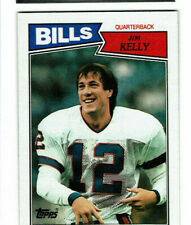 1987 Jim Kelly Topps Rookie #362