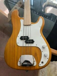 Fretless Maple P Bass Project - Great condition