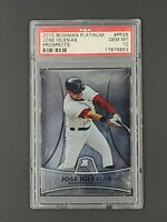 2010 Bowman Platinum Prospects #PP26 Jose Iglesias RC Rookie PSA 10 Gem MT POP 8
