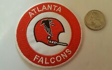 """Atlanta Falcons EMBROIDERED IRON ON PATCH  3"""" x 3"""" NFL"""