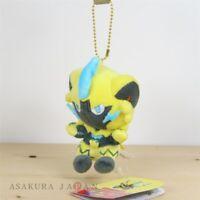 Pokemon Center Original POKEMON DOLLS Plush Mascot Key Chain Zeraora Japan