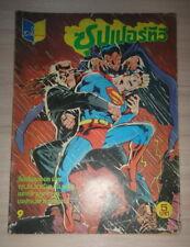 1980s SUPERMAN Bionic Woman Shazam SPIDERMAN THAILAND Comics Book DC Marvel Rare