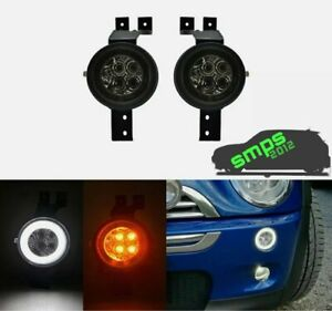 Led Halo Anello Turn Signal, Light DRL For Mini Cooper R53 Gen 1 (01-06) SMOKED