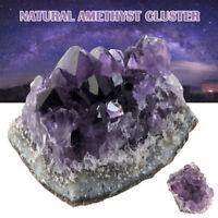 Amethyst Cluster Geode Crystal Quartz Cut Base Amethyst Specimen Uruguay Reiki
