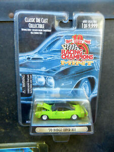 RACING CHAMPIONS MINT SUBLIME 1970 DODGE SUPER BEE WITH OPENING HOOD 1/9,999