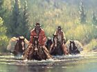 """G.Harvey """"The American West"""" 1984 Signed Lithograph 706/1250 w/coa"""