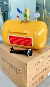 GONFIAGGIO PNEUMATICI BOOSTER 19L Compressore di ausilio intallonare BEAD NUOVO