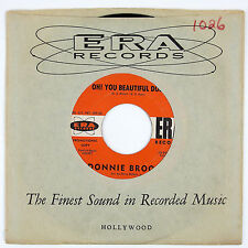 DONNIE BROOKS Oh!You Beautiful Doll/Just A Bystander 7IN 1961 TEEN PROMO VG++