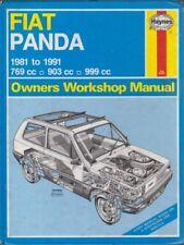 FIAT PANDA MK1 769 903 & 999 cc Benzina 1981 - 1991 Officina Proprietari Manuale