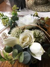 Rustic Wedding Decorations X 5 Cream And White