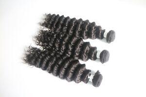 10A Brazilian100%Unprocessed Human Virgin Remy Hair Bundle Straight/Wave/Cur100g