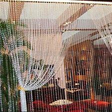30M Garland Diamond Strand Chain Acrylic Crystal Bead Hang Decor Party Wedding