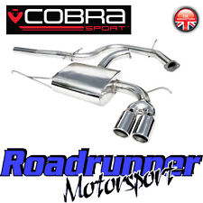 "VW11 Cobra Sport Scirocco 2.0 TDi Stainless Exhaust System 2.5"" Cat Back Non Res"