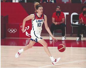 2021 BREANNA STEWART OLYMPIC 8x10 COLOR PHOTOGRAPH WNBA SEATTLE STORM UCONN