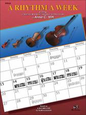 """A Rhythm a Week """"Viola"""" Music Book-Brand New On Sale-Method/Instruction-W itt"""