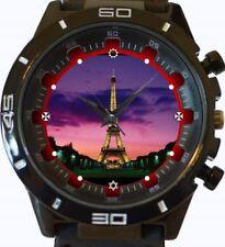 Reloj Pulsera Torre Eiffel Completo Nuevo Deportivo GT Series