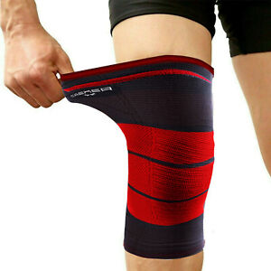 Compression Knee Support Brace Sleeve Sports Injury Arthritis Protector Silicone