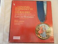 Love & Romance 6 LP Box Set from The Longines Symphonette Society LW102
