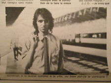JEAN-JACQUES GOLDMAN : LE PRIX DU SUCCES... INTERVIEW EXCLUSIVE - 07/05/1986