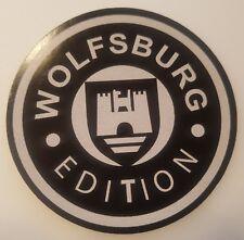 #123 WOLFSBURG EDITION RETRO  Ø 8,7 cm RUND AUFKLEBER STICKER  AUTOCOLLANT