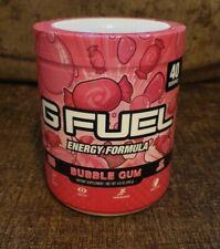 G FUEL Energy Formula Bubblegum Tub 40 Servings GFuel New & Sealed Sugar Free