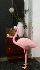 Fenicottero decorativo interni esterni giardino scultura rosa flamingo picchetto