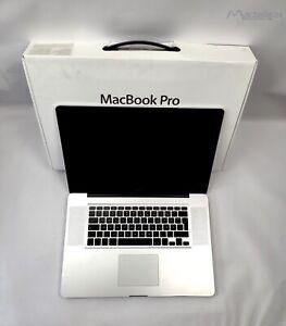""" 17"""" Apple MacBook Pro A1297 2,8GHz 4GB ohne Festplatte, Teildefekt"""