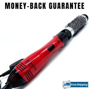 Hot Air Brush Styler Salon Hair Dryer Swivel Cord Ceramic Frizz Control