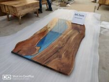 Epoxy Resin Dining table top 6x3 35mm Thickness In Acacia Wood Table top Only
