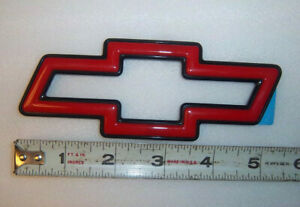 1994 1995 1996 Red & Black Bowtie Grill Emblem NOS impala SS NEW  Stock GM HTF