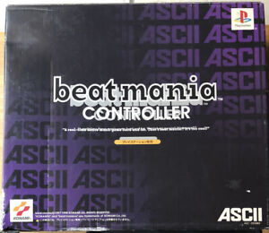 Beatmania Controller - Complete With Box, Great Condition ASCII/Konami PS1 & PS2