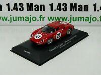 BR24D 1/43 ixo 24 Heures du Mans : FERRARI 275LM Gregory/Rindt WINNER 1st