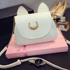 Vogue Cosplay Sailor Moon PU Leather Women Cat Tote Handbag Shoulder Bag