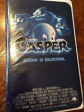 Casper VHS Tape. Clam Shell Case