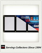 Ultra PRO 3-Card Black Border Screwdowns x 5 - Trading standard card in triple