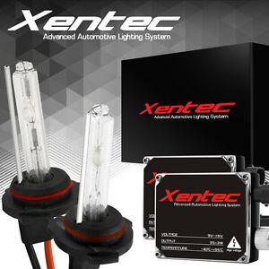 XENTEC HID Headlight Conversion KIT 6000k H11 H4 9003 9005 9006 9007 H13 5202