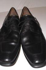 ECCO 'Boston Apron' Black Leather Oxfords Men's Comfort Shoes SIZE 10.5D