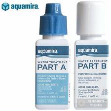 AQUAMIRA Water Treatment DROPS Kills Bacteria SURVIVAL 30 gal. 67202 FAST SHIP