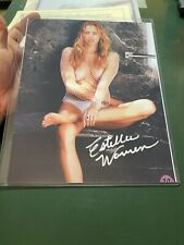 Estella Warren Signed 8x10 Photo W/COA Beauty & The Beast,Planet Of Apes. Sexy