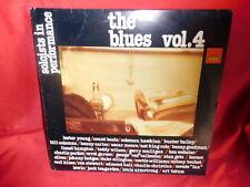 THE BLUES Vol. 4 LP 1982 ITALY MINT- Charlie Parker Lester Young Ellington etc.