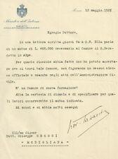 Ministero dell'Interno Documento a Firma di Giovanni Talvacchia 1925