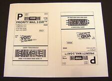 Labels 8.5x5.5 - 800 Shipping Labels Half-Sheet Self-Adhesive USPS UPS FedEx