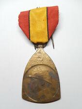 Z14A) Belle médaille belge 14 18 ROYAUME DE BELGIQUE medal n°1