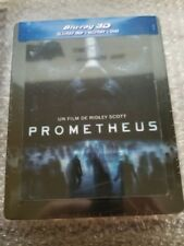 PROMETHEUS STEELBOOK w/lenticular magnet [NEW/Blu-ray 3D+2D] France *** READ ***