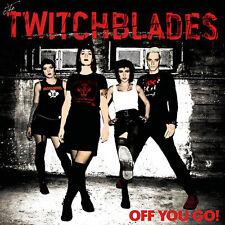 THE TWITCHBLADES - OFF YOU GO! LP Punk Powerpop New Wave RAZMATAZ RECORDS vinyl