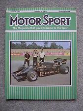 Motor Sport (Aug 1983) Rover Vitesse, MG Maestro, British Grand Prix,Ypres Rally