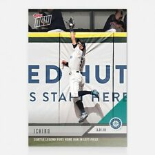 2018 TOPPS NOW #15 ICHIRO SEATTLE LEGEND ROBS HOME RUN IN LEFT FIELD