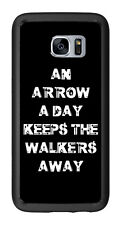 An Arrow Aday Keeps The Walkers Away For Samsung Galaxy S7 Edge G935 Case Cover